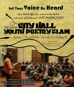 2nd annual youth poetry slam