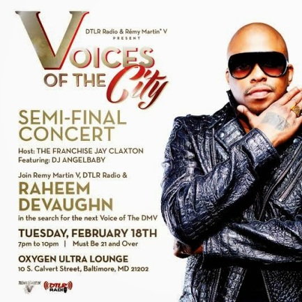 voices of the city flyer