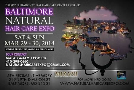 NATURAL HAIR CARE EXPO FLYER