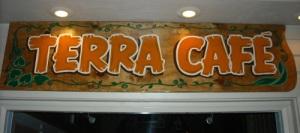 terra cafe sign