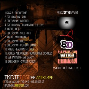 back of the indiefest mixtape