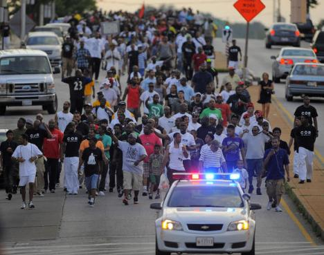 300 men march image Karl Merton Ferron Baltimore Sun  July 5, 2013