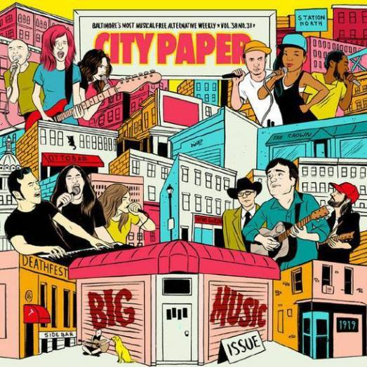 city paper big music issue 2014