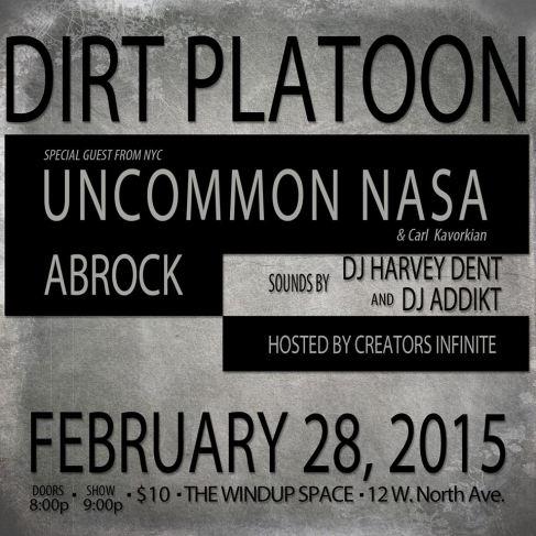 dirt platoon flyer