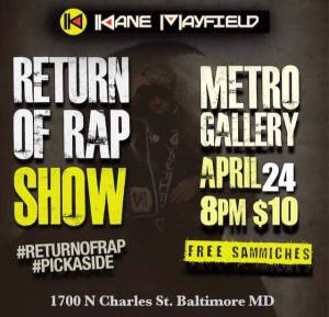 the return of rap show