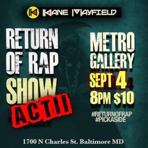 return of rap ii flyer